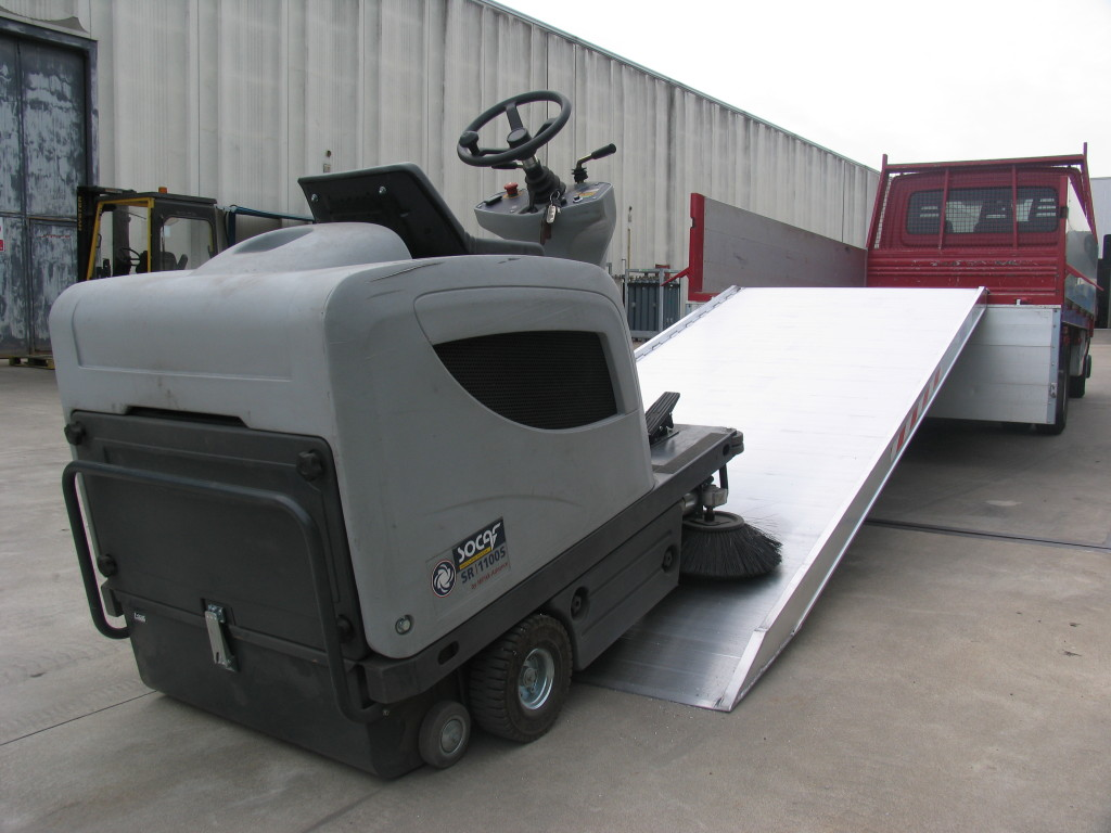 Custom Built Truck Ramp