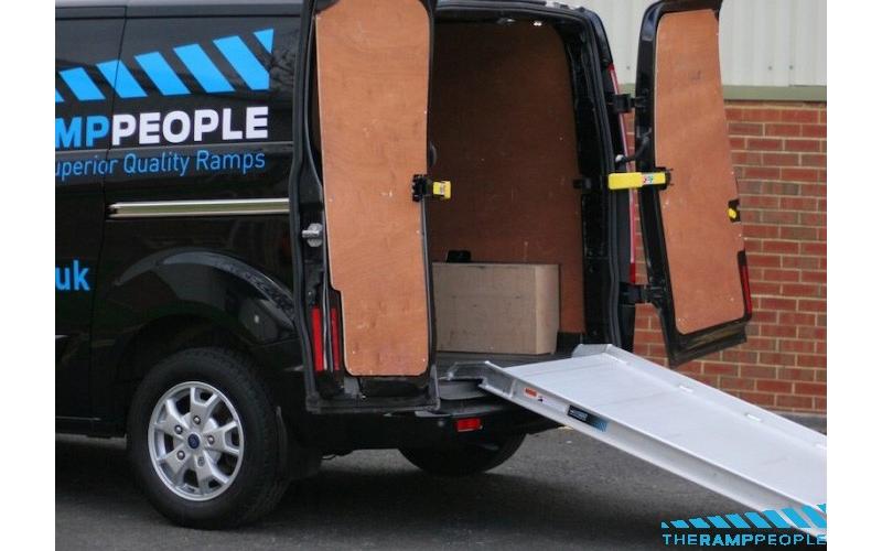 Van Loading Ramp