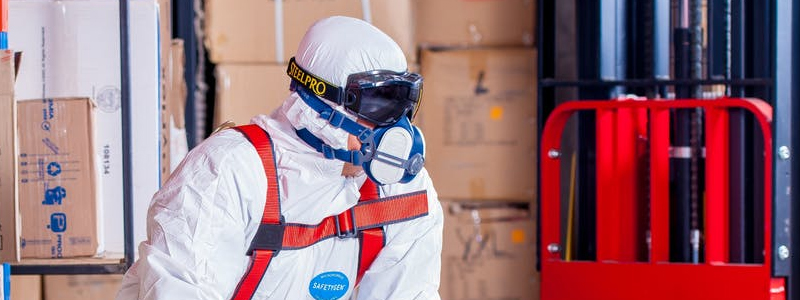 Make sure employees use protective equipment and clothing