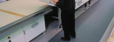 One of the benefits of anti-fatigue mats is they can reduce business costs