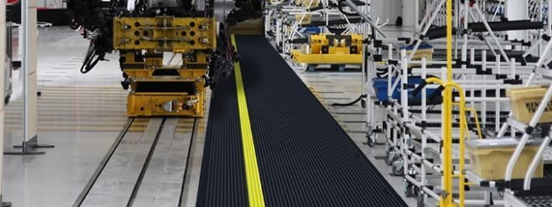 Anti-fatigue mats can reduce fatigue-related injury and illness as well as reduce workplace accidents