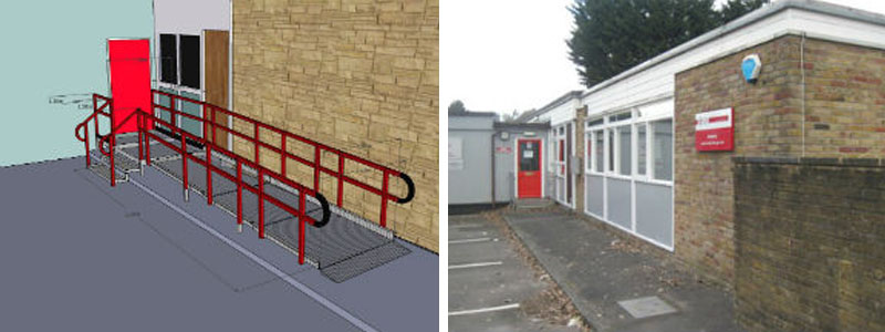 Choose from narrow modular wheelchair ramps as well as wider semi permanent wheelchair ramps