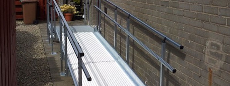 modular ramps are a permanent wheelchair ramp solution