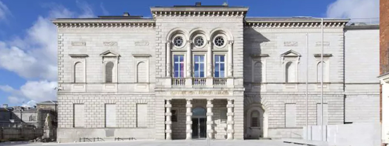 The national gallery of Ireland is one of the top accessible tourist attractions in Dublin Ireland