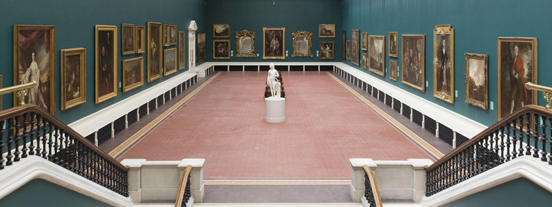 The national gallery is one of the best accessible things to do in Dublin