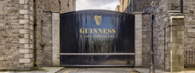 The guinness storehouse is a must see in Dublin Ireland