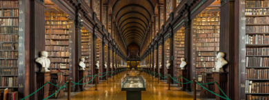 the trinity college library is one of the best things to see in Dublin