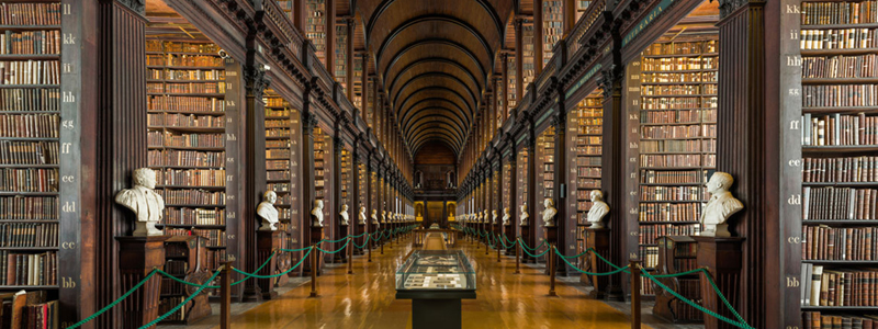 the trinity college library is one of the best accessible things to see in Dublin