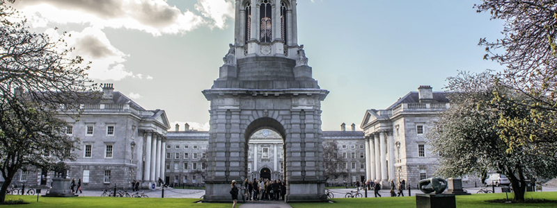 Make sure to see Trinity College for wheelchair users visiting Dublin