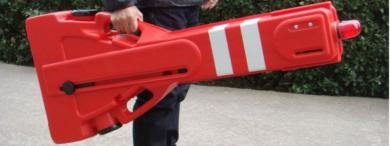 portable expandable barrier