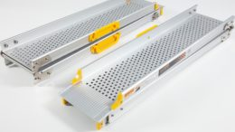 Folding telescopic Combination Channel Ramps