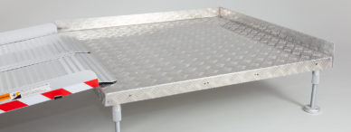 Platform for wheelchairs