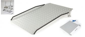 Adjustable Threshold Ramp with Hinge Plate