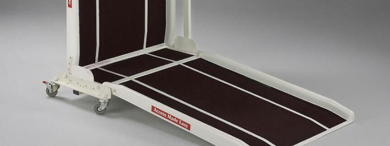 Folding Fibreglass ramp