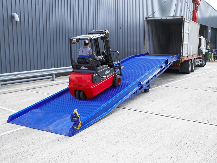 Container Yard Ramps