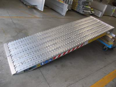 TRP130F Series - Milled Surface Ramps for Steel Track - 600mm wide