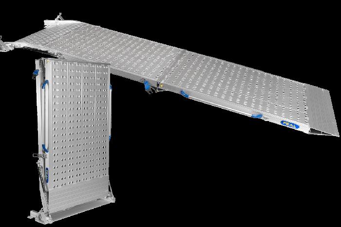 Heavy Duty 2-Part Folding Van Ramps