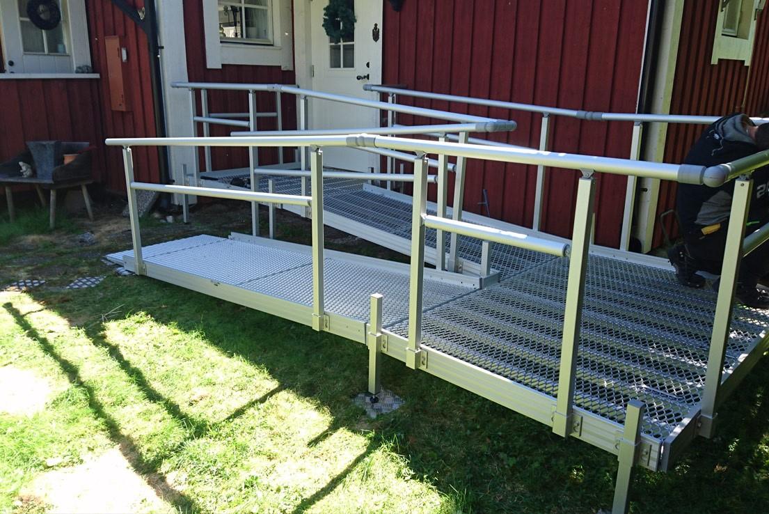 Aluminium Lightweight Modular Wheelchair Ramps
