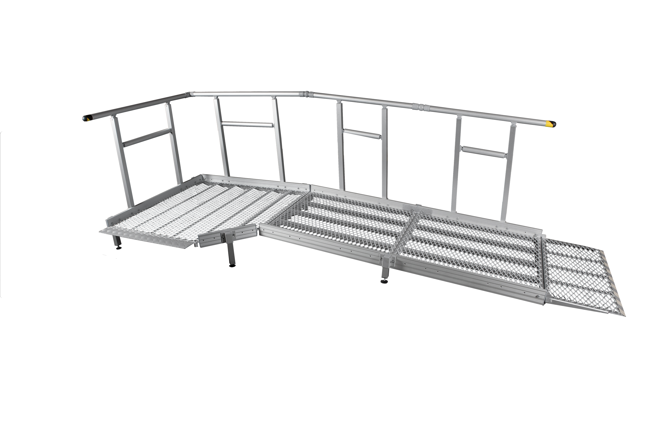 900mm Wide Ramp System with Handrails
