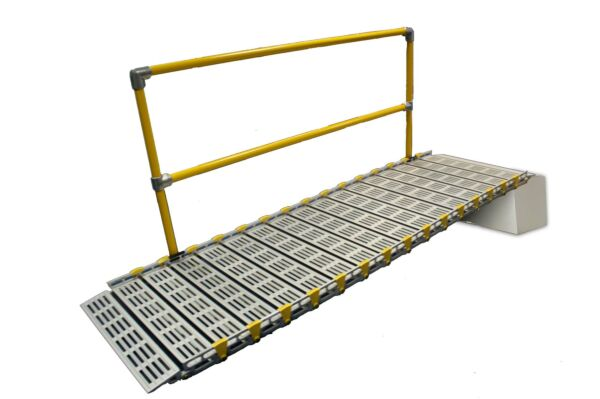 Single Roll A Ramp Handrail For 14ft Ramp