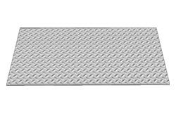 470mm door plate b