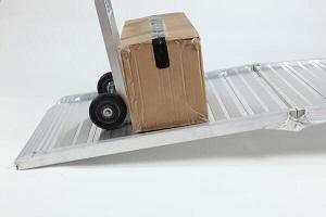 folding van ramp portable