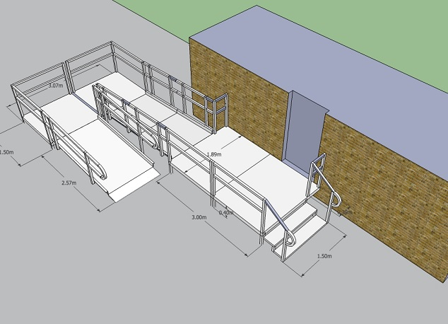 wheelchair ramp specification and design the ramp people ireland
